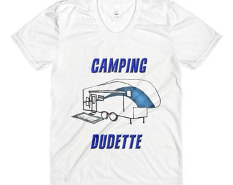 Camping Dudette