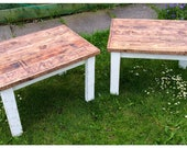 Rustic Reclaimed Wood Coffee Tables Country Shabby Chic