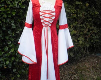 "Dress medieval ""BARTENDER"" custom and color choice"