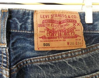 Vintage levis 501 denim