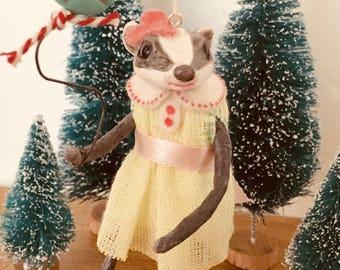 Miss.Badger, Cupcakebears, kerstboom decoratie, handgemaakte collectors edition