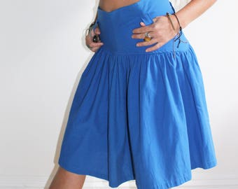 80s highwaist cotton skirt