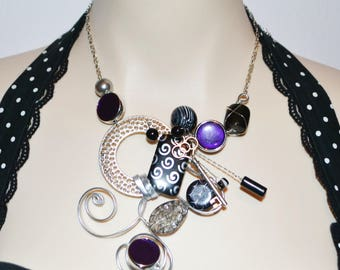 collier sculptural   / sculpural necklace
