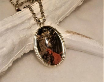 HellBoy necklace / seen a Rama