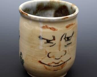 Ceramic Face Mug