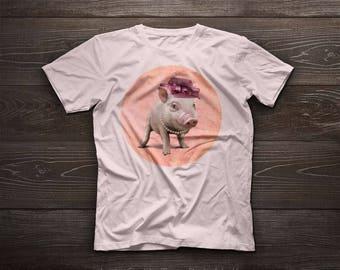 Miss Piggy t-shirt, Miss Piggy tshirt, Miss Piggy, pig, valentine, beloved, kids, pet, boy, girl, gift, romantic lady
