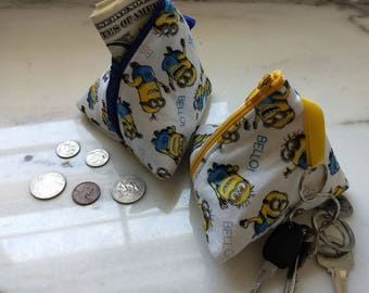 Minion Triangle Pyramid Coin Purse