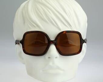 Linea Pitti 568, Vintage oversized square sunglasses, 80s 80s rare and unique luxury frame / NOS
