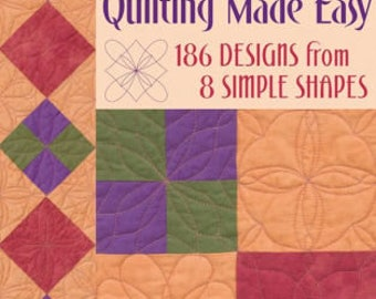 Free Motion Quilting Made Easy by Eva A. Larkin