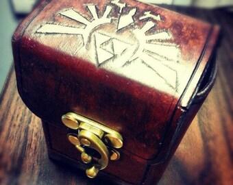 Customized Leather Deck Box / Deckbox - Magic the Gathering / Yu-Gi-Oh / Pokemon / EDH Commander / Tournament box