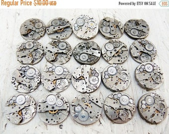 ON SALE Old watch movements - set of 20 - c106