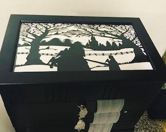 Beauty & The Beast 2.0 Inspired Jewelry Box