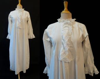 Antique, Victorian, Lace Trimmed  Nightgown