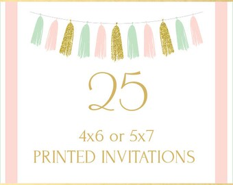 Printing Service, 25 Invitations
