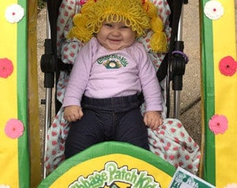 cabbage patch kid hat cabbage patch baby 1pc costume cabbage patch wig infant - Cabbage Patch Halloween Costume For Baby