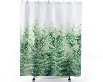 pine tree shower curtain forest curtain pine tree curtain forest shower tree