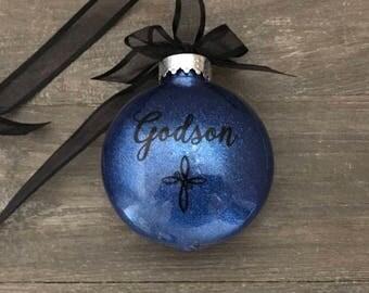 Godson ornament  Etsy