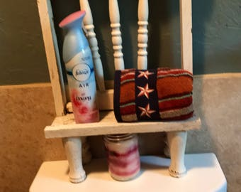 Rustic Old Chair Pieces Made Into A Shelf