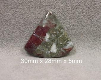 Norwegian Pyrite in Jasper Cabochon