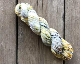Hand-dyed Yarn - Delights Colorway - Hand-painted Yarn - Merino Wool Yarn - Indie-dyed Yarn