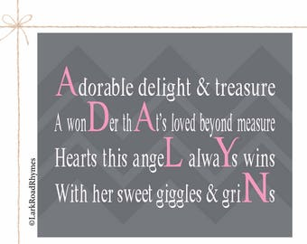 Gift for one year old 1st birthday girl baby girl first newborn personalized baby girl nursery art baby girl gift baby name wall art baby girl custom negle Image collections