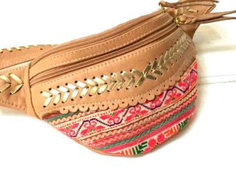 Jessie  Festival Belt ,tribal fabrics,gypsy bag,boho bag, holster hipster bag