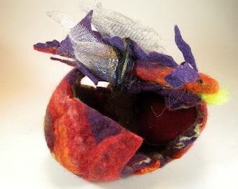 Dragon hatchling egg/pretend play dragon/baby dragon/dragon egg/bling dragon/red dragon egg/dragon nest/purple dragon egg/flying dragon