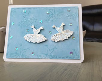 Dancing themed cards / perfect for the little dancers in your life