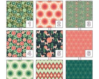 Crib Sheet ... { Florabelle } Joel Dewberry - Pink Palette