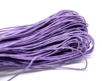 30 m cotton coated 1 mm purple
