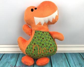 Personalized Stuffed Dinosaur