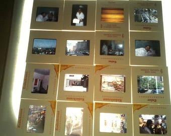 Vintage slides   35mm images-- 100 misc. scenes