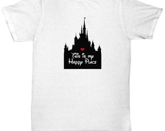 Magical Castle This is My Happy Place Shirts Heart Love Shirt for Fan