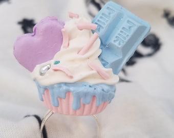 Sweet Lolita Cupcake Ring 59