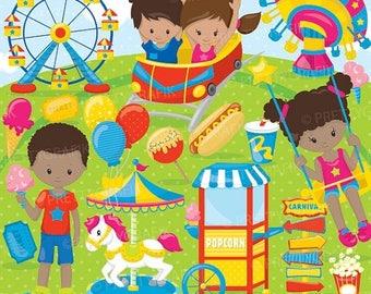 80% OFF SALE Amusement Part clipart commercial use, Fun Carnival vector graphics, digital clip art, digital images - CL894
