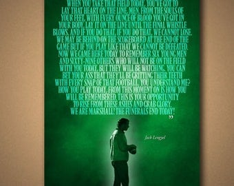 WE ARE MARSHALL  Quote Poster