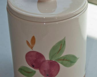 Franciscan Apple canister