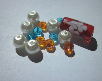 15 (PV58-20) colored glass beads