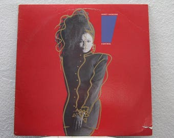 "Janet Jackson - ""Control"" vinyl record"