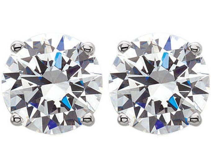 All Size Genuine Diamond Stud Earrings Starting From 400.00 Dollars and Up