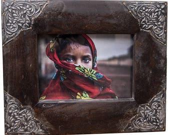 Wood Picture Frame, 5x7 Frame, 4x6 Frame, Handmade Frame, Rustic Home, Wedding Frame, Reclaimed Wood Frame, Easter Gift