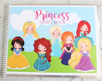 Princess Quiet Book Printable