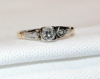 18ct Diamond Engagement Ring
