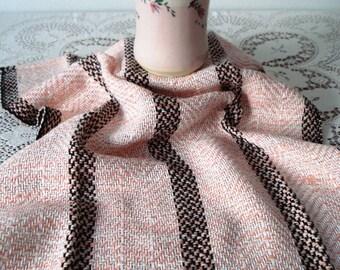 Cotton Tea Towel in Petal Pink Colorway