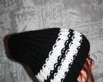 Hat (side 1: 1) man /ado sleeves