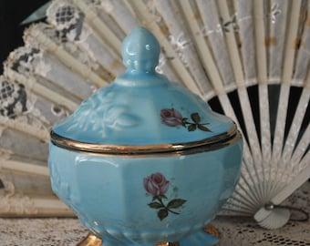 Vintage Porcelain Vanity Jar