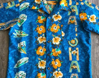 1970's Ocean Pacific Hawaiian Shirt