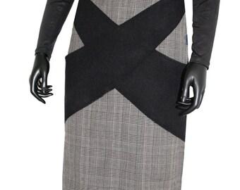 Tama at Chilia grey wool skirt