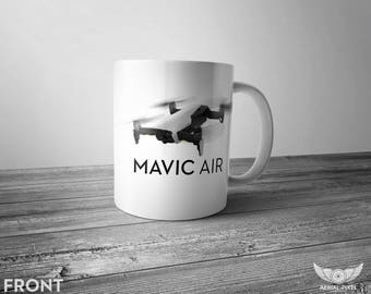 DJI Mavic Air - 11oz Coffee Mug for Aerial Photographers and Drone Pilots