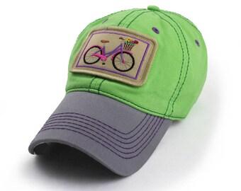 Townie Bike Everyday Ballcap, Lime